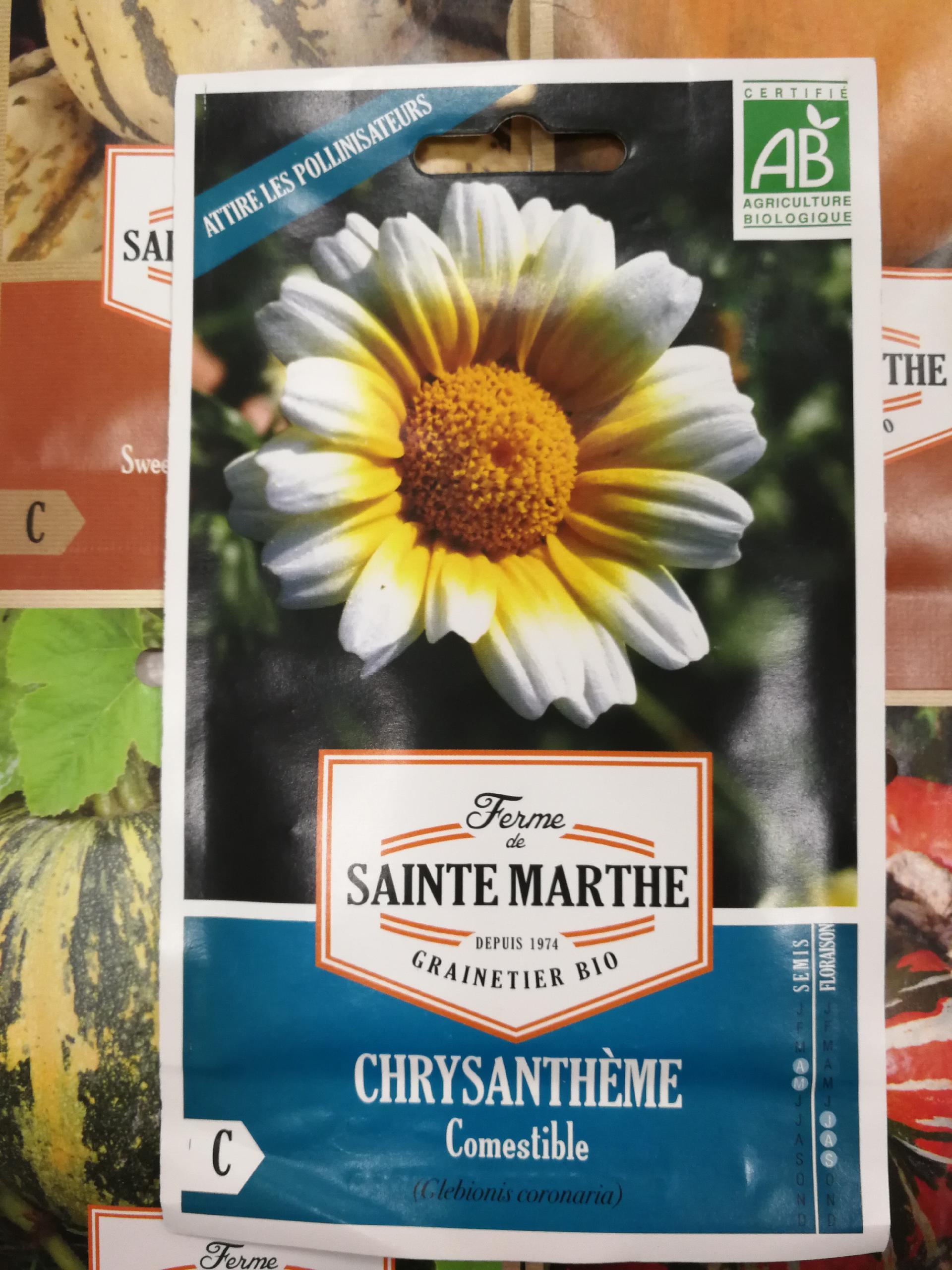 CRISANTEMO - Comestible AB (200 Semillas)