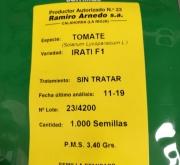 TOMATE IRATI F-1 (1.000 Semillas).