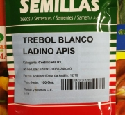 TRÉBOL BLANCO LADINO APIS (100 gr.).
