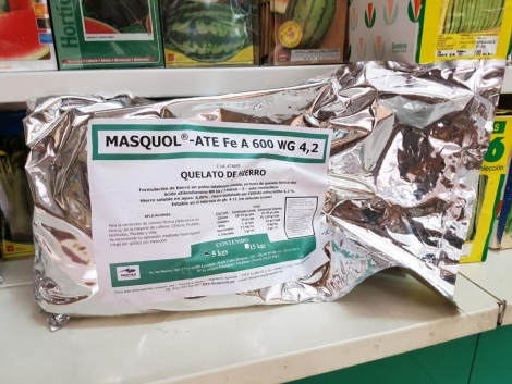 MASQUOL-ATE Fe A 600 WG 4,2 (5 Kgr.) - Mínimo 4 Envases.