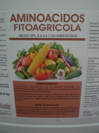 AMINOACIDOS FITOAGRICOLA (20 l. ) - Mínimo 5 envases.