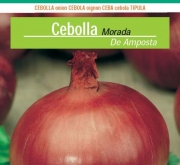 CEBOLLA MORADA DE AMPOSTA ECOLÓGICA (100 gr.).