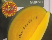 Sandias Rayadas Con Semillas de Carne Amarilla