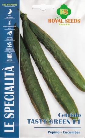 PEPINO BURPLESS TASTY GREEN F1 (1 gr. - Cerca de 38 Semilla.)..