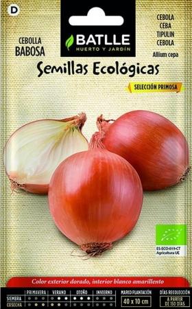 CEBOLLA BABOSA ECOLÓGICA Sel. Primosa (100 gr.).