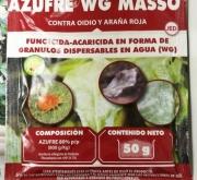 AZUFRE WG MASSÓ (50 gr.). [JED]
