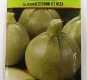CALABACIN REDONDO DE NIZA (8 gr.).