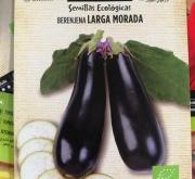 BERENJENA LARGA MORADA ECOLÓGICA (0,18 gr.).
