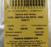 REMOLACHA RED SUN F-1 (50 gr.).
