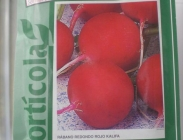 Rabanitos Redondos Rojos