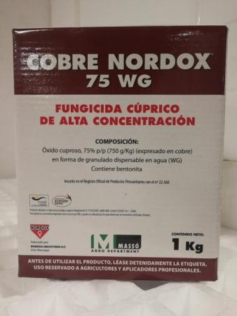 COBRE NORDOX 75 WG (5 Kgr.) - Mínimo 16 envases.