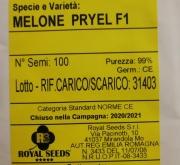 MELON PRYEL F1 Calibrado (100 Semillas)