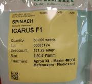 ESPINACA ICARUS F1 (50.000 Semillas).
