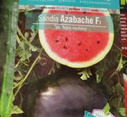 SANDIA AZABACHE F1 (45 Semillas).