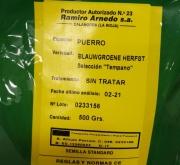 PUERRO BLAUWGROENE HERFST Sel. Tempano (500 gr.).