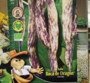 JUDÍA BOCA DE DRAGON ECOLÓGICA (1 Kgr.).