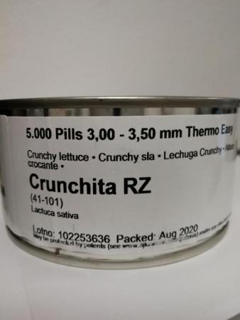 LECHUGA CRUNCHITA RZ Precisión Pildorada (5.000 Semillas).