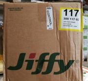 JIFFY POT REDONDO 4,5x4,5 cm. alto con ranura...