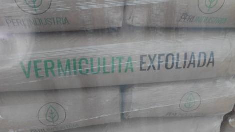 VERMICULITA EXFOLIADA (100 l.) - Mínimo 15 sacos.