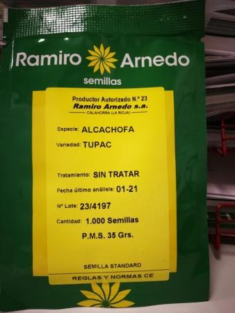 COMPRAR ALCACHOFA TUPAC