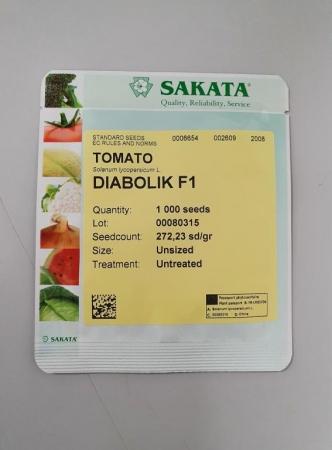 TOMATE DIABOLIK F1 (1.000 Semillas).