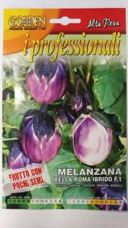 BERENJENA BELLA ROMA F1 (10 gr.).