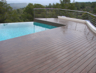 Terraza Timbertech Earthwood Nogal