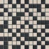 Malla botticino antracita-marfil 30x30