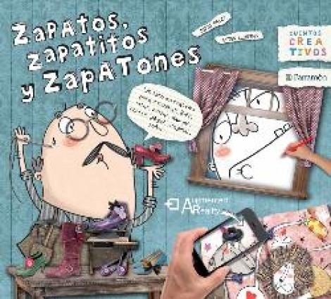 ZAPATOS ZAPATITOS ZAPATONES/CUENTOS CREATIVOS+CALZADOR / LLORENS, ESTER / PALET, JORDI