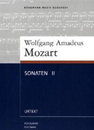 SONATEN II/MOZART K-103/104 FÜR KLAVIER/FOR PIANO/POUR PIANO / MOZART, WOLFGANG AMADEUS
