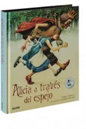"ALICIA A TRAVES DEL ESPEJO ""CLASICOS"" / CARROLL, LEWIS/ INGPEN, ROBERT"