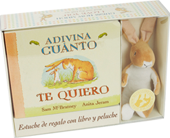 ADIVINA CUANTO TE QUIERO/LIBRO+PELUCHE / McBRATNEY, SAM / JERAM, ANITA