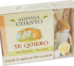 ADIVINA CUANTO TE QUIERO/LIBRO+PELUCHE /...