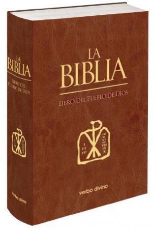 """LA BIBLIA /LIBRO DEL PUEBLO DE DIOS """"PIEL"""" """"UÑEROS"""""""