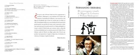 EL EXTRAVAGANTE TRIUNFO DE MIGUEL DE CERVANTES Y WILLIAN SHAKESPEARE / FERNANDO ARRABAL
