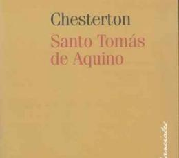 SANTO TOMAS DE AQUINO / CHESTERTON, GILBERT KEITH