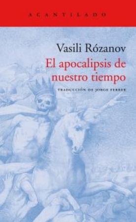 APOCALIPSIS DE NUESTRO TIEMPO, EL / ROZANOV, VASILI