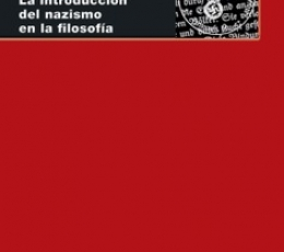 HEIDEGGER /LA INTRODUCCION DEL NAZISMO EN LA...