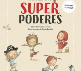 CUADERNO DE SUPERPODERES /CONTIENE STICKERS /...