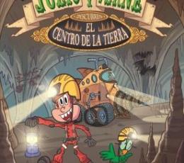 JULIO Y VERNE DESCUBREN EL CENTRO DE LA TIERRA /...