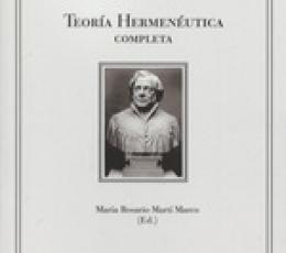 TEORIA HERMENEUTICA COMPLETA / SCHLEIERMACHER,...
