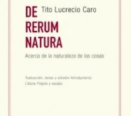 DE RERUM NATURA. ACERCA DE LA NATURALEZA DE LAS...