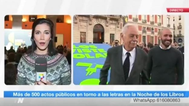 LA NOCHE DE LOS LIBROS... VIVIENTES