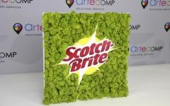 Scotch-Brite musgo