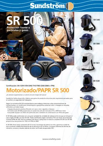 Máscara motorizada Sundström