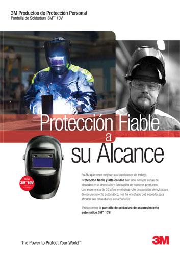 Máscara 3M de protección laboral
