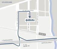 mapa d elocalización de Omni Safety