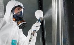 Seguridad laboral para pintura