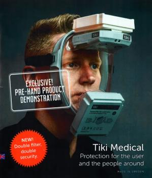Nuevo equipo protección para sector Sanitario Tiki Medical