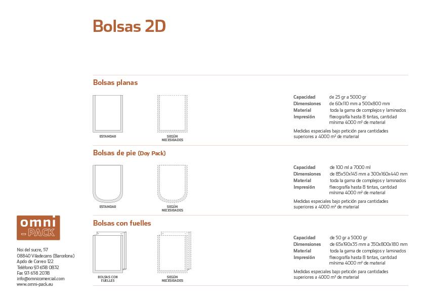 Ficha de Bolsas 2D